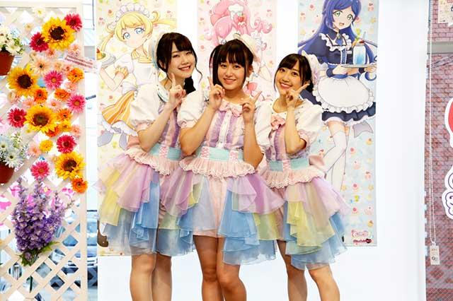 声優ユニット run girls run 新曲 go up スターダム tv